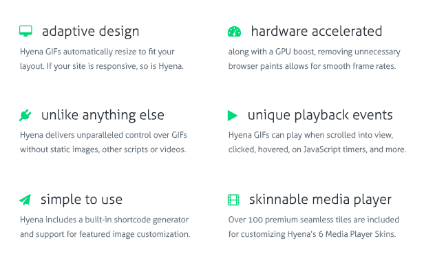 Hyena - GIF Animation Controls for WordPress